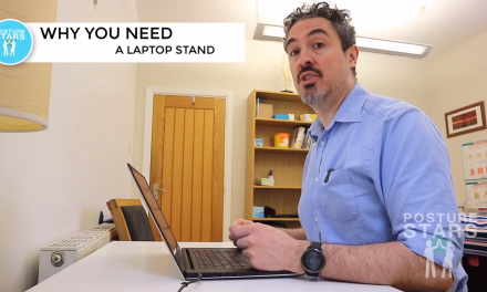 Work from home with a laptop – With Great Posture!