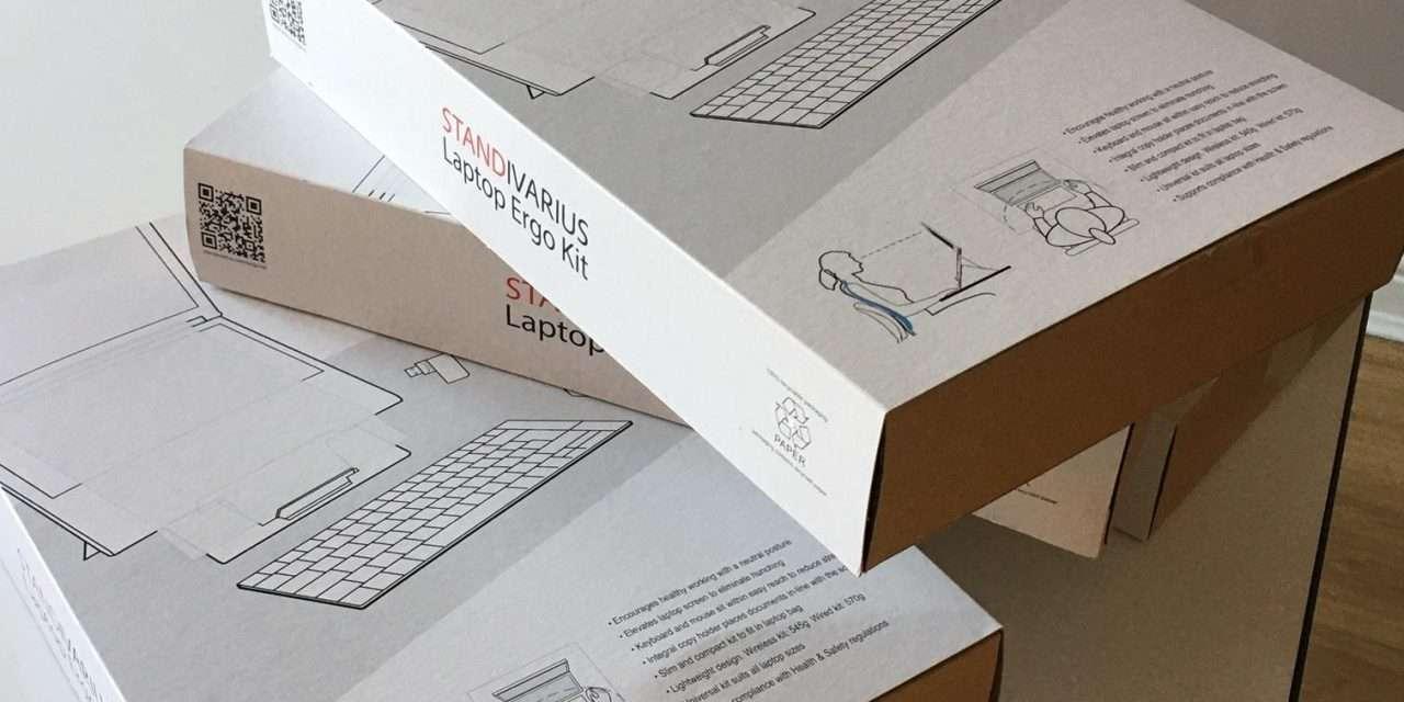 Standivarius Laptop Ergo Kit Review – a great portable laptop stand kit