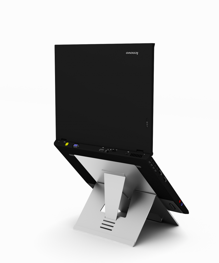 Standivarius Evo D laptop Stand Rear